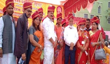 Mass marriages organised by Nari Shakti Sena on International Women's Day